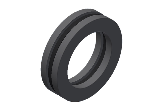 Axial ball bearings